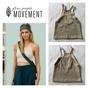 NWOT Free People Happiness Runs Crop XS/S